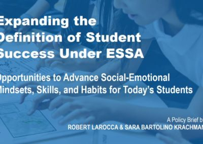 Expanding the Definition of Student Success Under ESSA